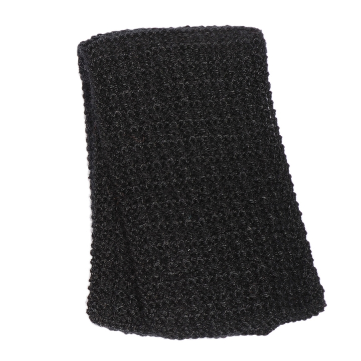 Hand knitted kid mohair scarf