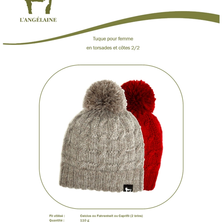Tuque pattern woman