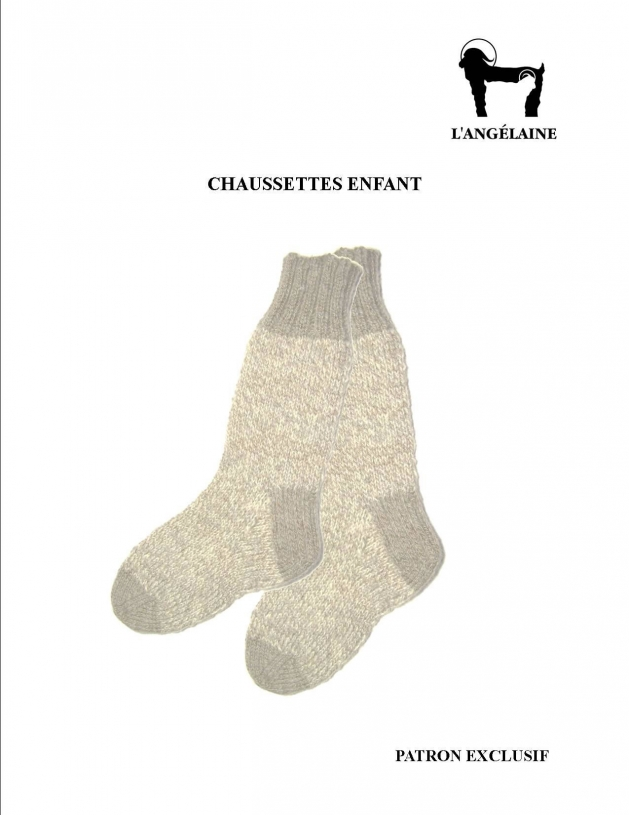 Kid socks pattern